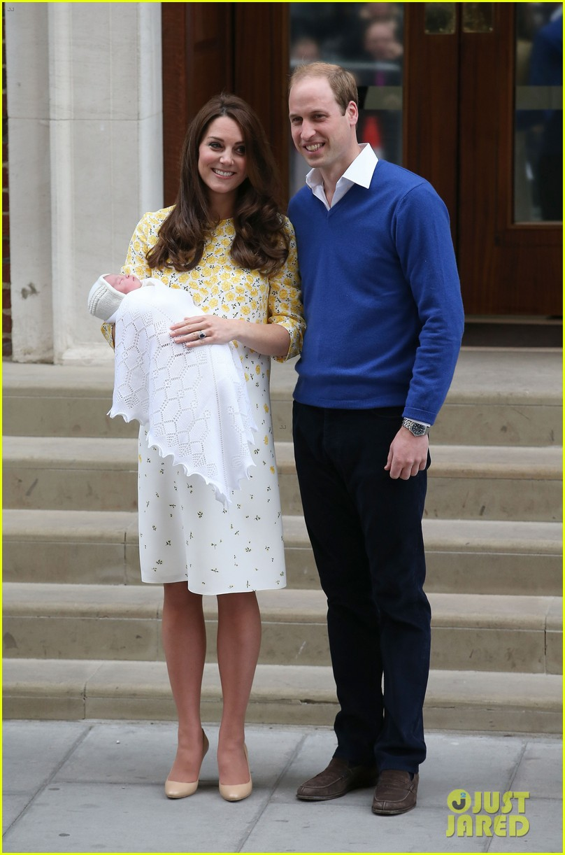 royal baby girl first appearance with kate middleton prince william 033361747