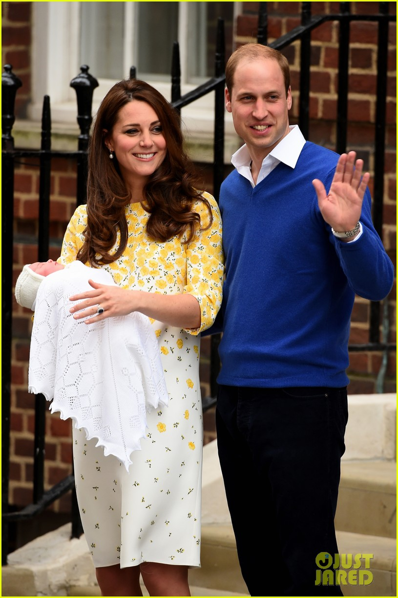 royal baby girl first appearance with kate middleton prince william 043361748