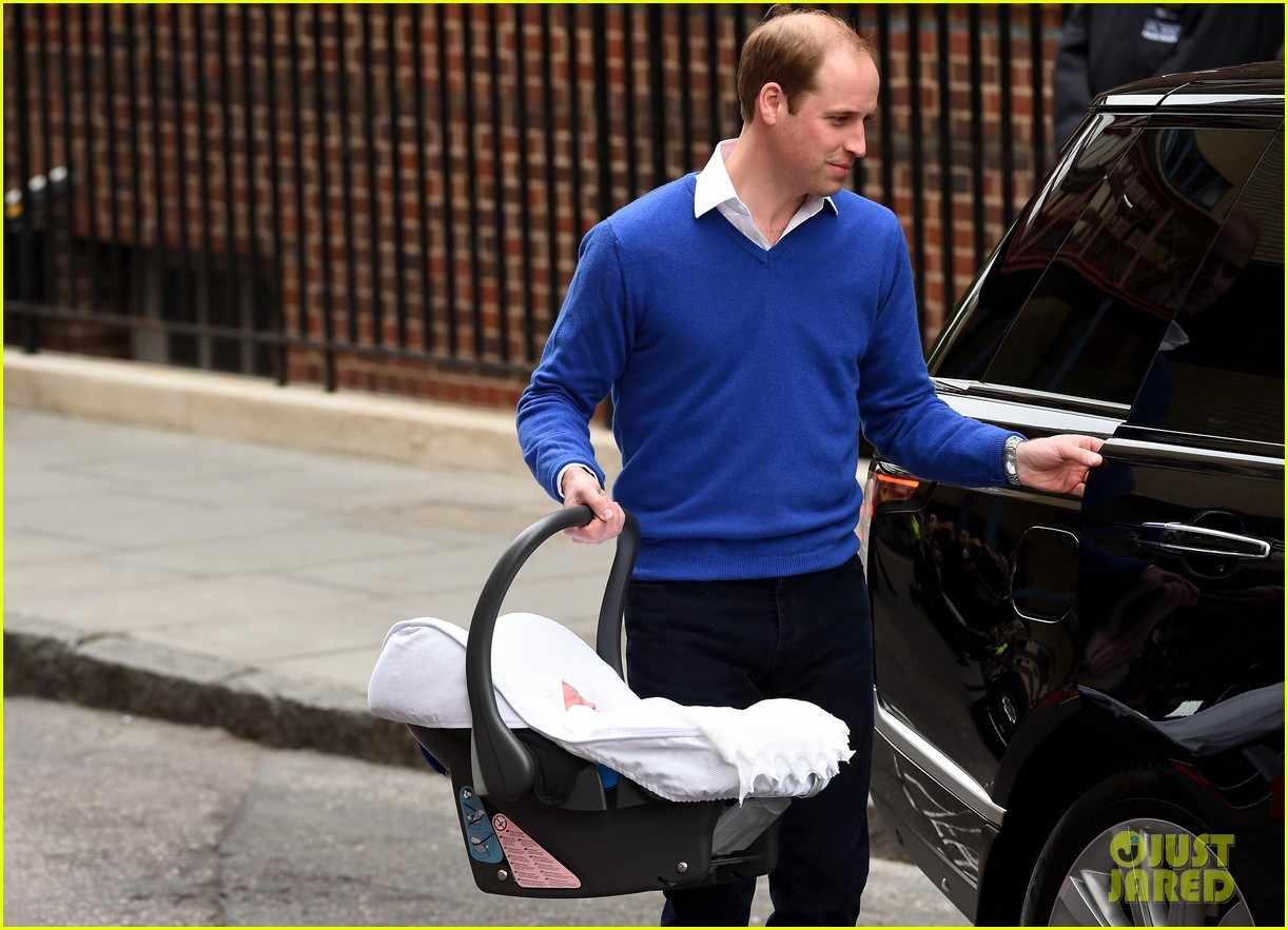 royal baby girl first appearance with kate middleton prince william 083361752
