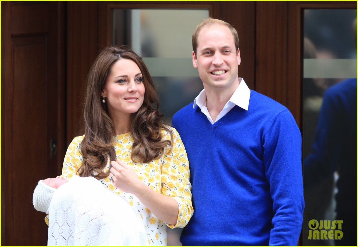 royal baby girl first appearance with kate middleton prince william 133361757
