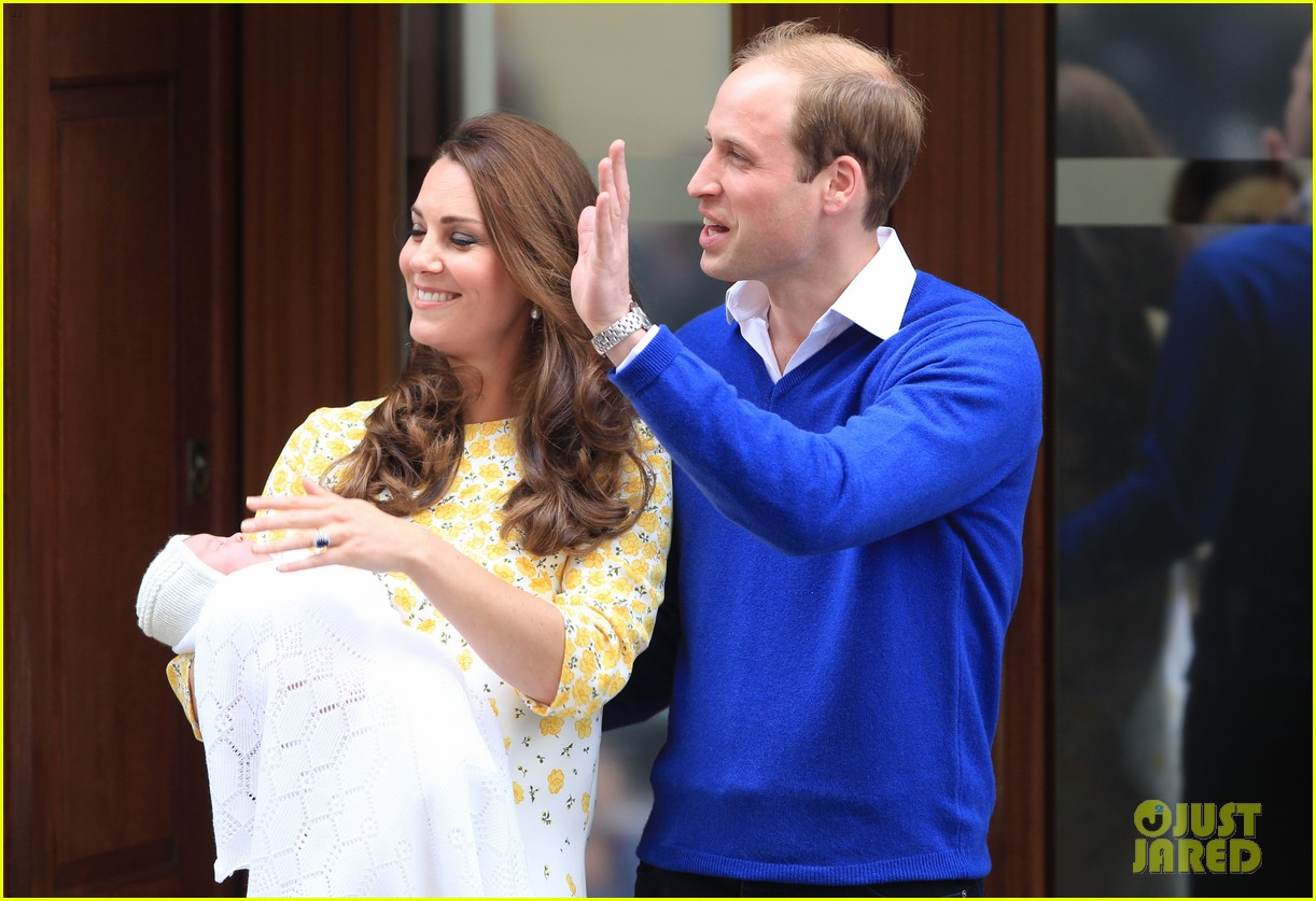 royal baby girl first appearance with kate middleton prince william 143361758