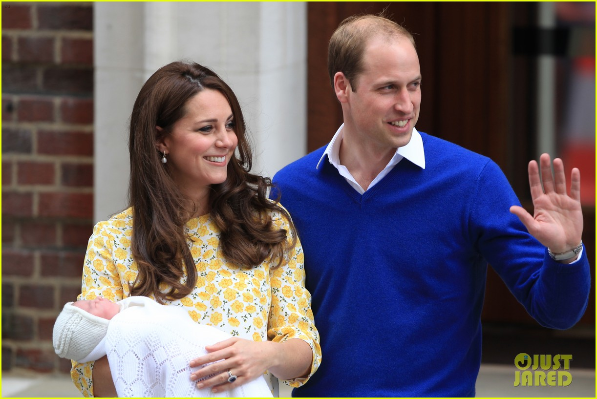 royal baby girl first appearance with kate middleton prince william 173361761