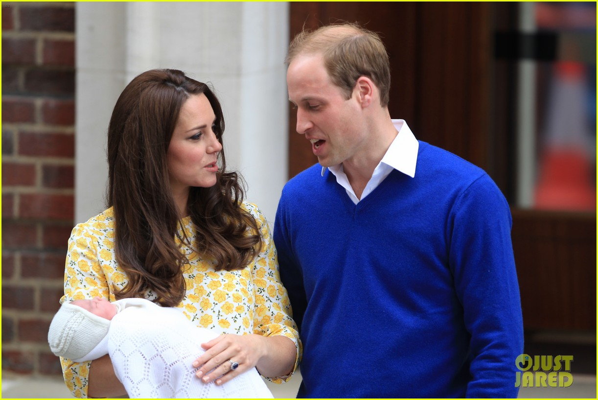royal baby girl first appearance with kate middleton prince william 193361763