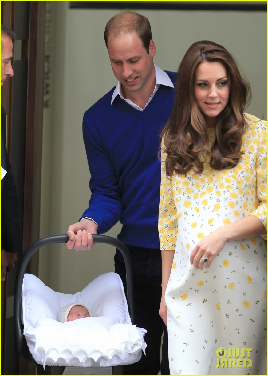 royal baby girl first appearance with kate middleton prince william 223361766