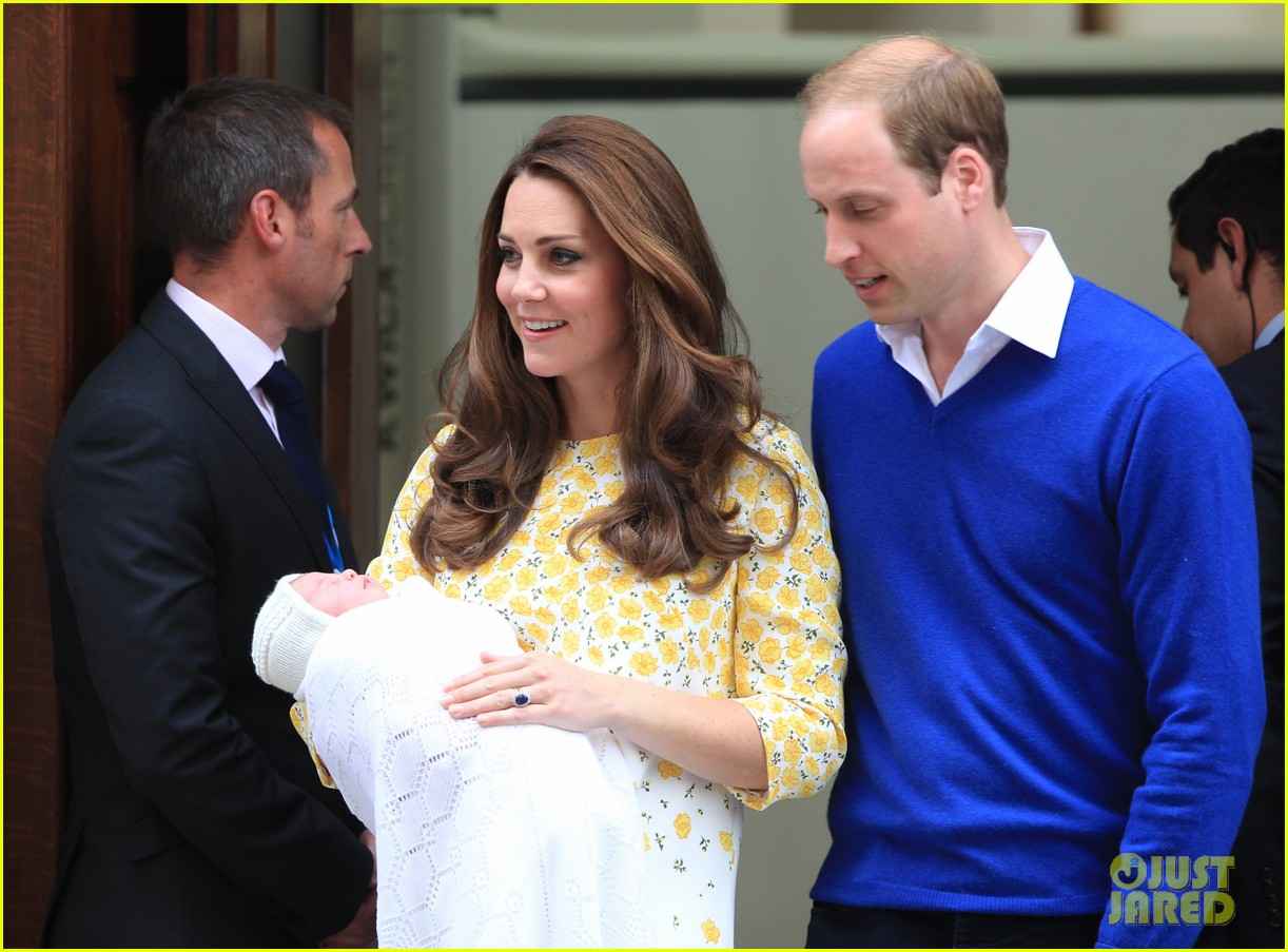 royal baby girl first appearance with kate middleton prince william 303361774