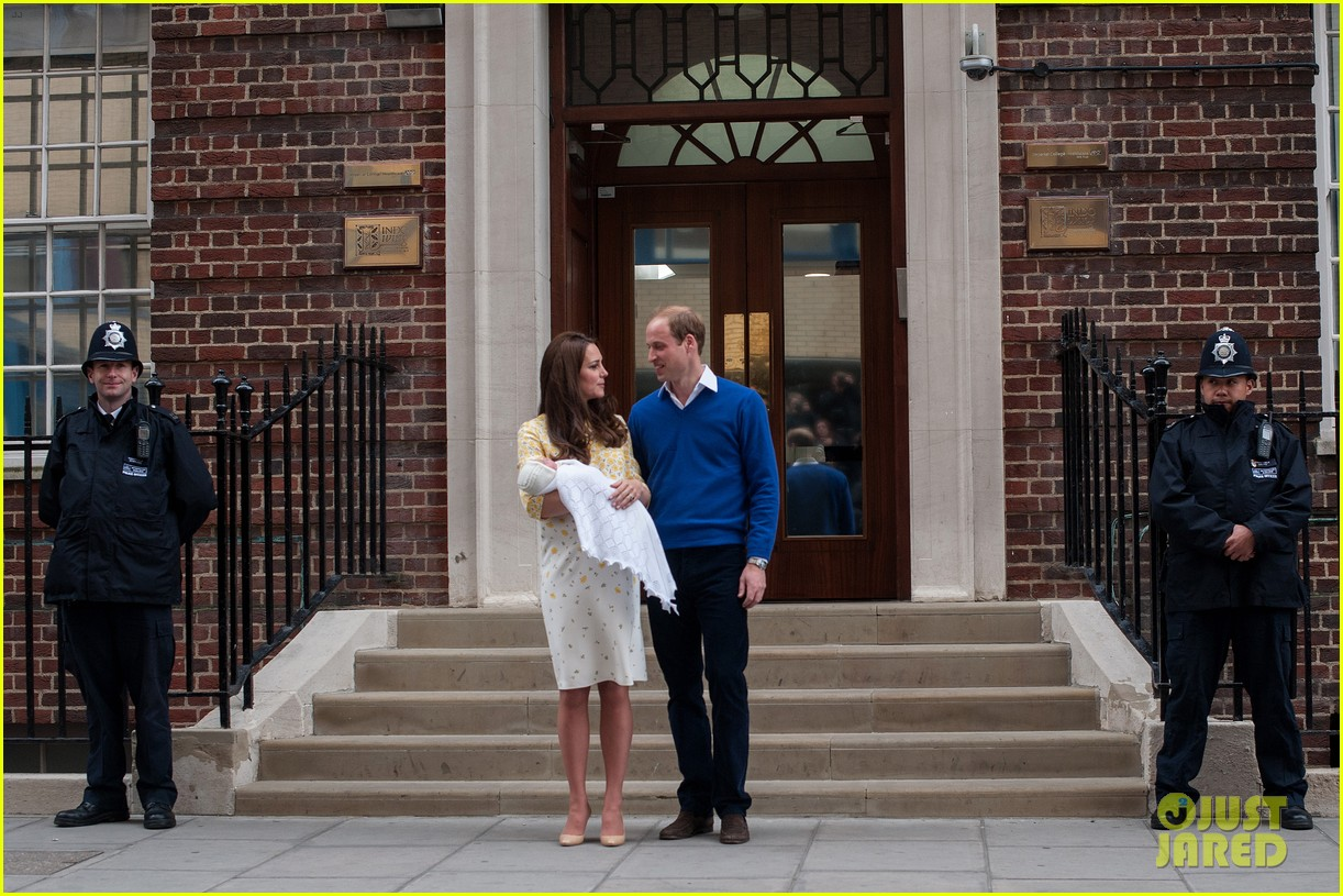 royal baby girl first appearance with kate middleton prince william 343361778
