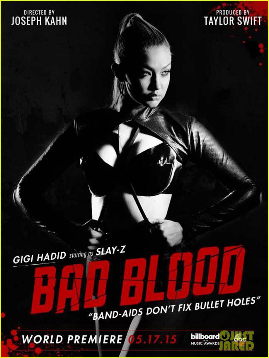 gigi hadid taylor swift bad blood music video 013366063