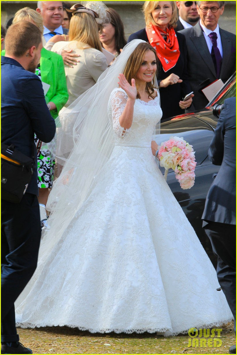 geri halliwell is married spice girls wedding photos 013370379