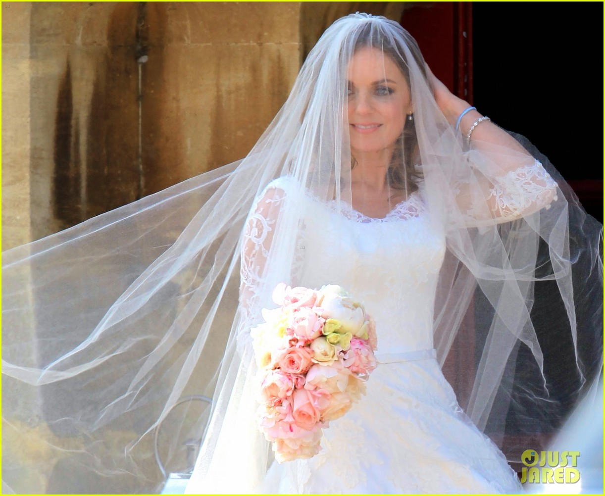 geri halliwell is married spice girls wedding photos 083370386