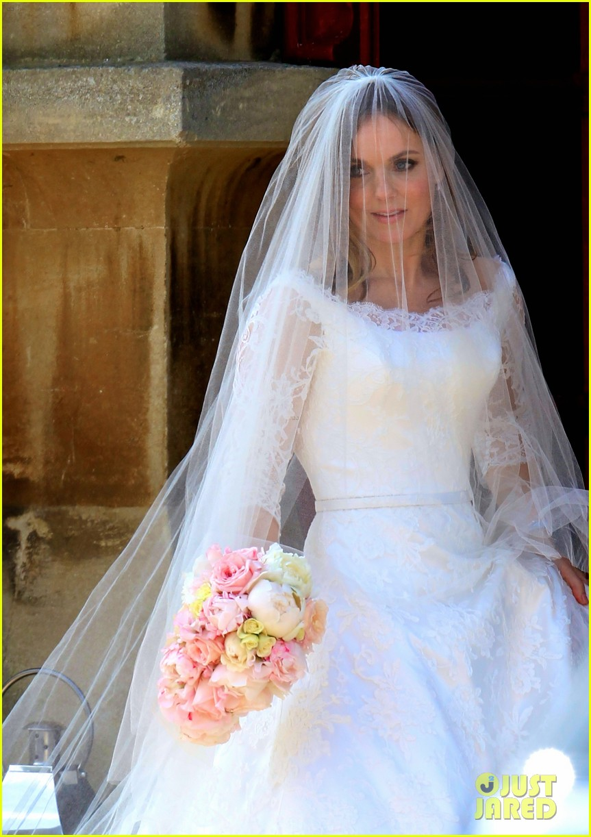 geri halliwell is married spice girls wedding photos 093370387