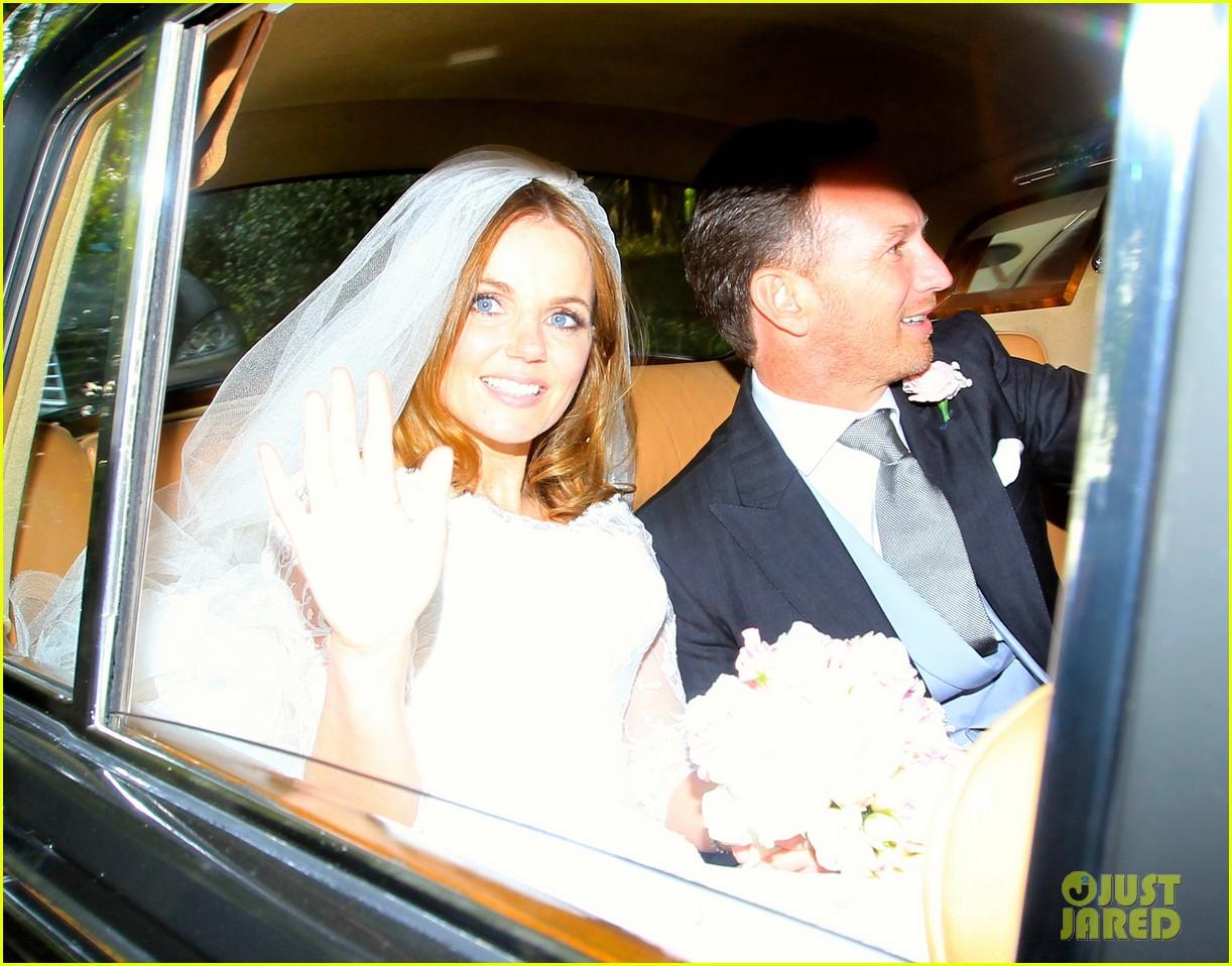 geri halliwell is married spice girls wedding photos 223370400