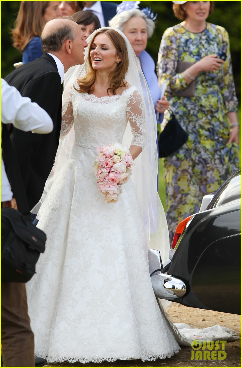 geri halliwell is married spice girls wedding photos 273370405