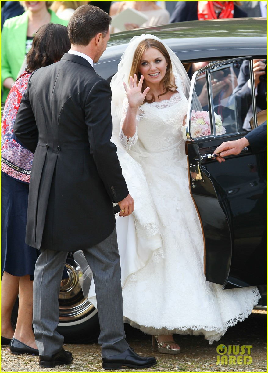 geri halliwell is married spice girls wedding photos 293370407