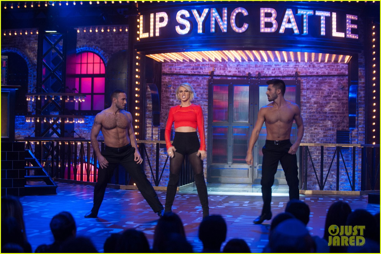 Derek hough does sias chandelier on lip sync battle photo derek hough does sias chandelier on lip sync battle photo 3370410 derek hough julianne hough lip sync battle pictures just jared aloadofball Gallery