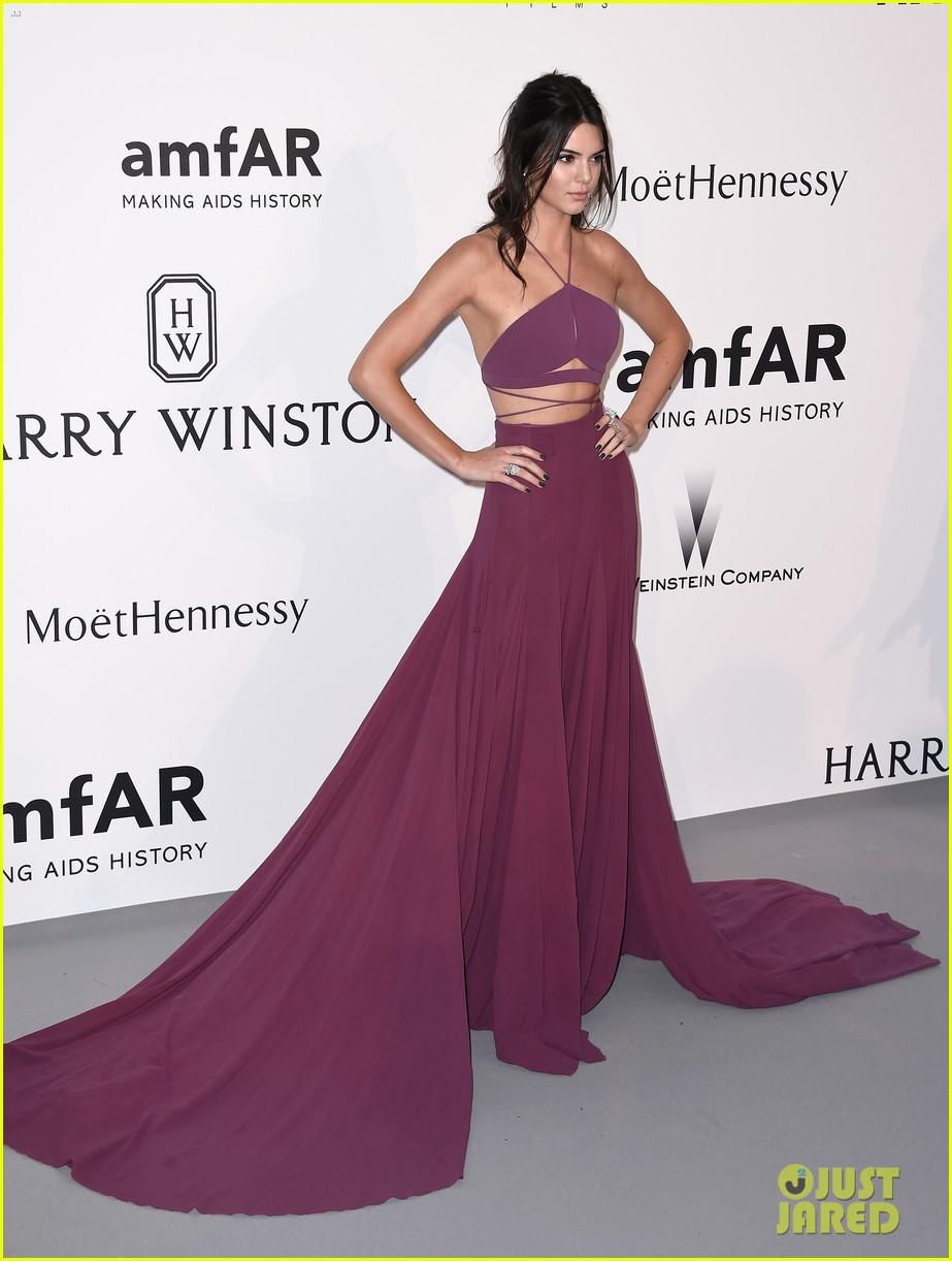 c6517b321 Kendall Jenner   Gigi Hadid Glam Up for amfAR s Cannes Gala  Photo ...