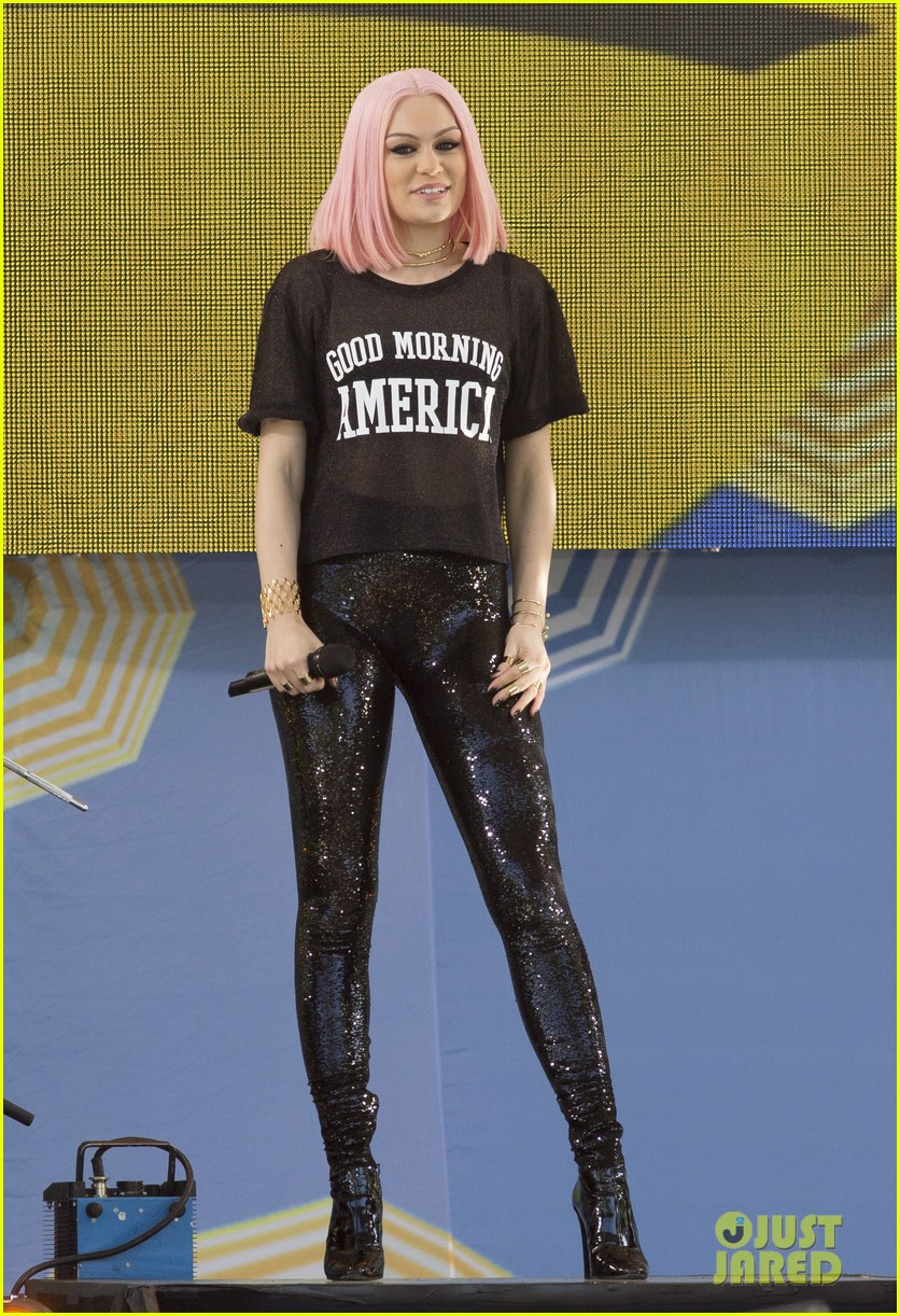 Jessie J 'Sweet Talk's Her Way Around 'Good Morning America': Photo