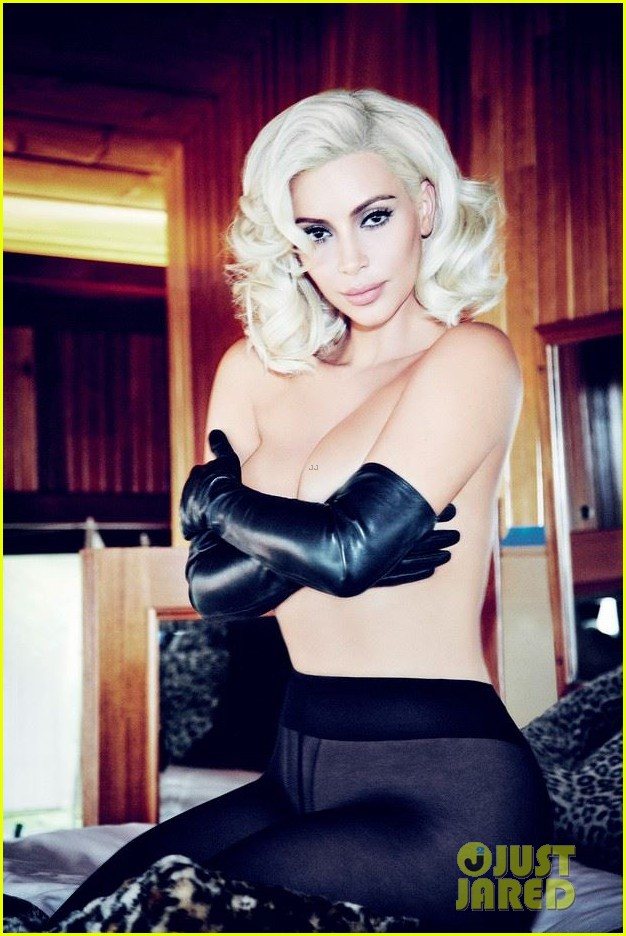 kim kardashian channels marilyn monroe for vogue brasil 013379138