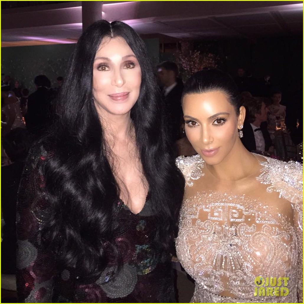 kim kardashians met gala 2015 dress was inspired by cher 023363183