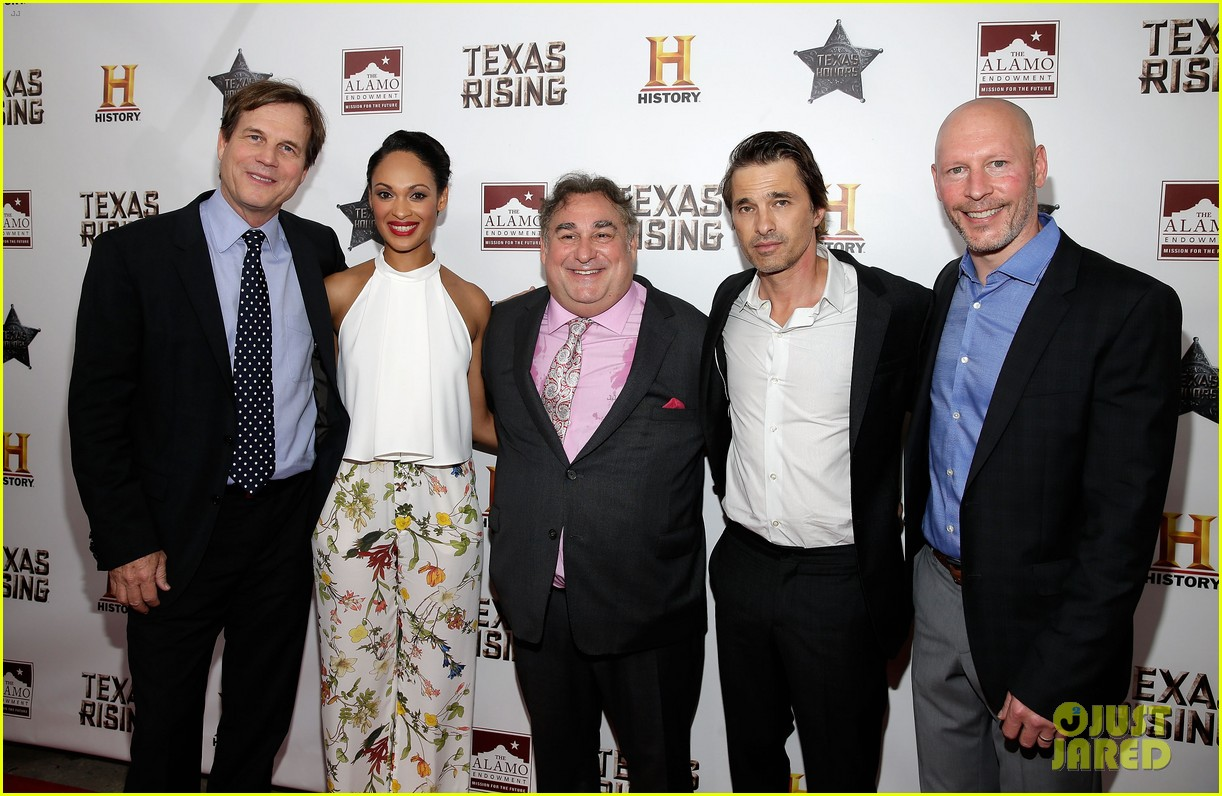 olivier martinez celebrates texas rising at the alamo ahead of premiere 073373339