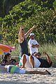miles teller keleigh sperry kiss beach jonah hill movie hug 16
