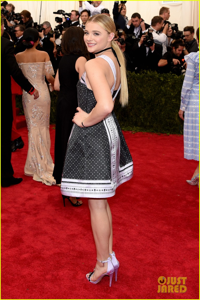 chloe moretz sleek straight 2015 met gala 013362568
