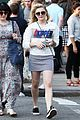 chloe moretz has water filled night in new york 03