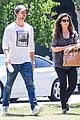 patrick schwarzenegger maria shriver bond over tavern lunch 06