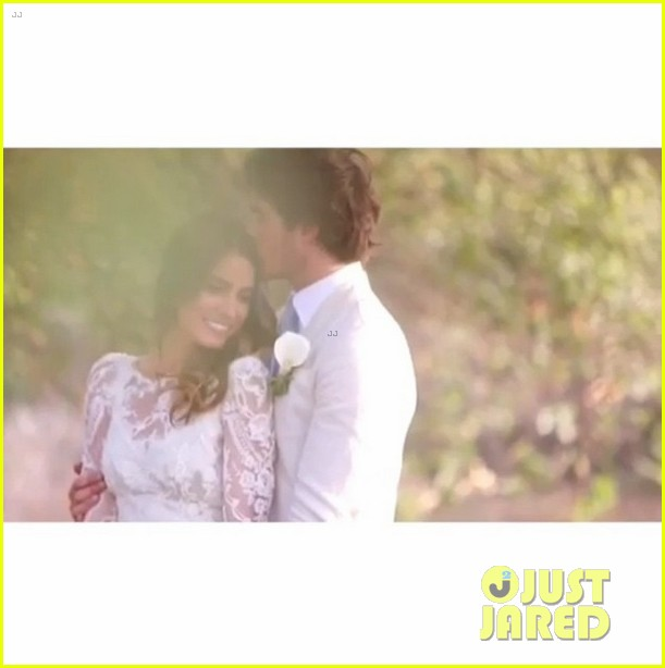 Nikki reed shares romantic wedding video with ian somerhalder photo nikki reed shares romantic wedding video with ian somerhalder junglespirit Images