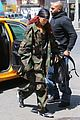 rihanna steps out in camo nyc 10