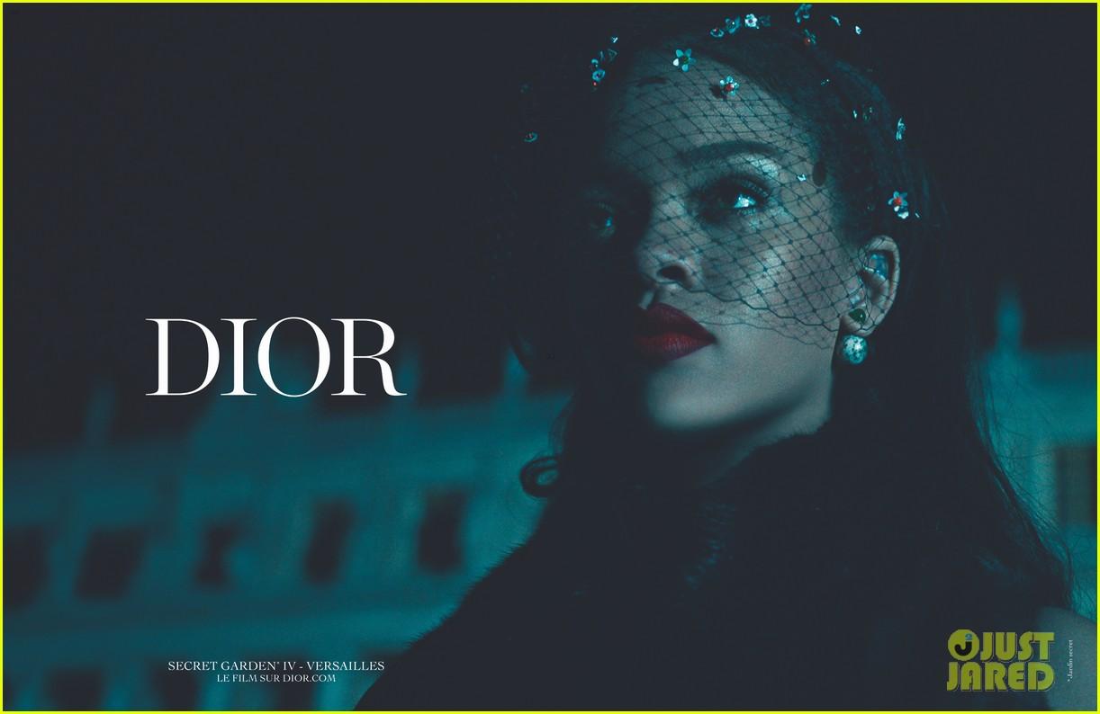 Rihanna es la nueva musa de DIOR. Rihanna-dior-campaign-05