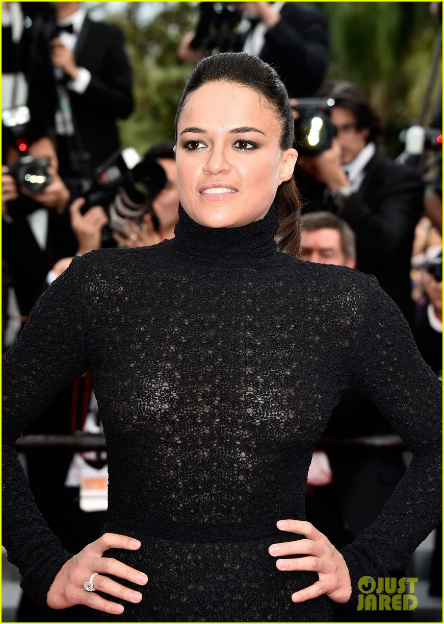 michelle rodriguez hits cannes red carpet one last time 053377520