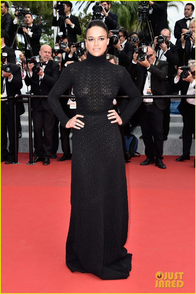 michelle rodriguez hits cannes red carpet one last time 163377531