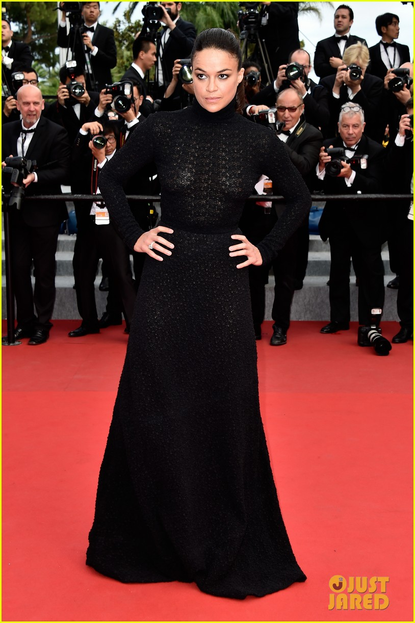 michelle rodriguez hits cannes red carpet one last time 173377532