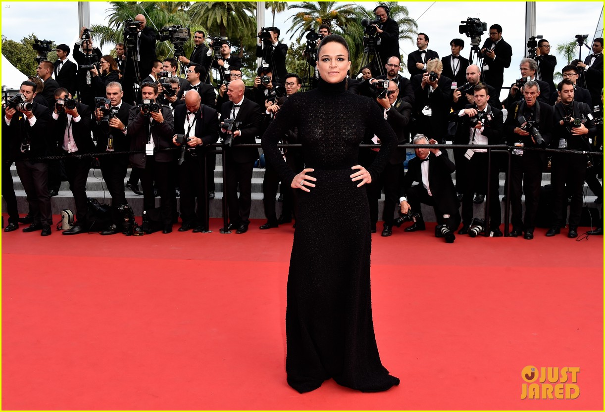 michelle rodriguez hits cannes red carpet one last time 193377534