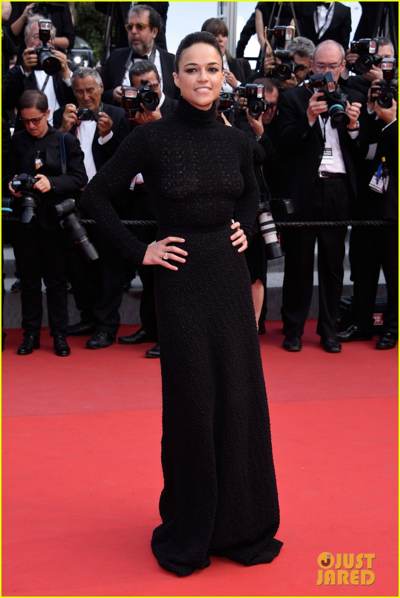 michelle rodriguez hits cannes red carpet one last time 213377536
