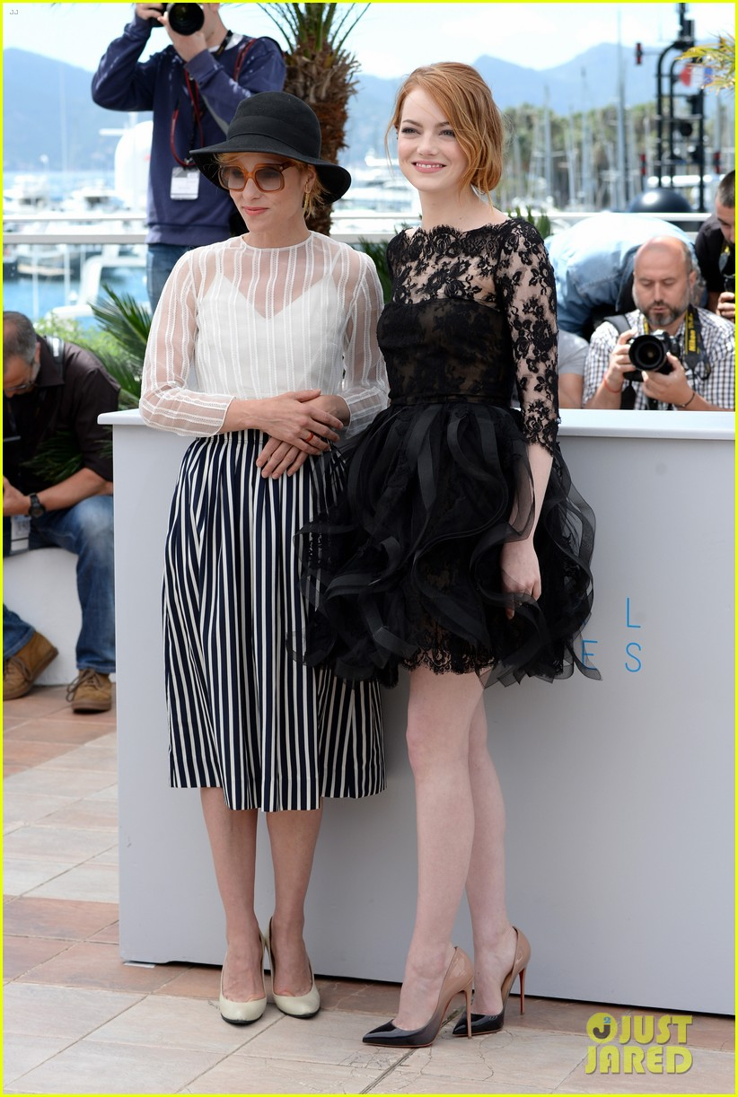 emma stone joins parker posey woody allen in cannes 123370137