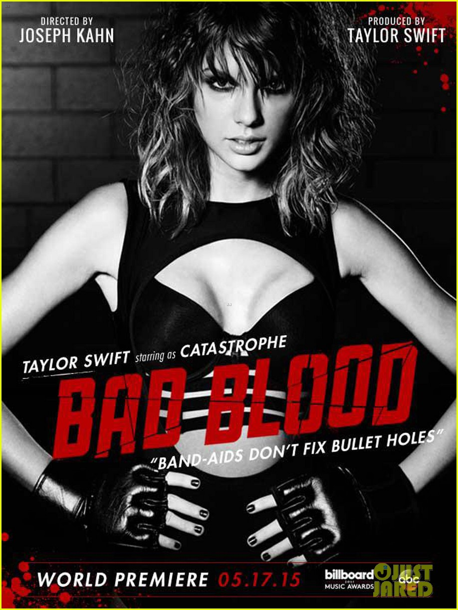 taylor swift hints at karlie kloss battle in bad blood video 013368850