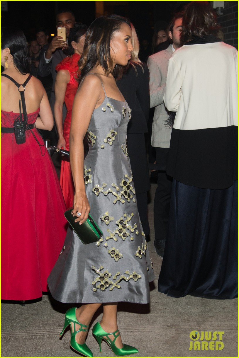 Kerry washington hubby nnamdi asomugha hit met gala after party kerry washington changes into grey dress for met gala after party 053363478 altavistaventures Image collections