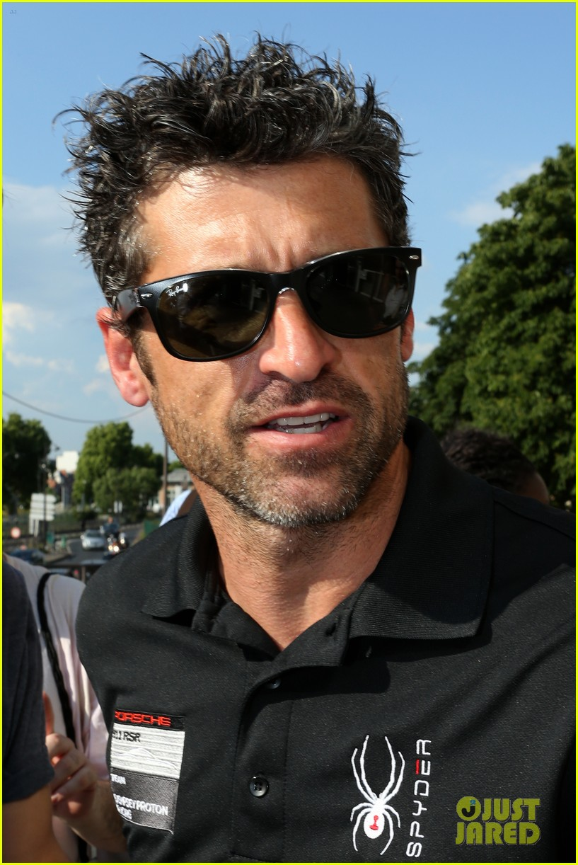 Patrick Dempsey Races In 24 Hours Of Le Mans Next Weekend Photo