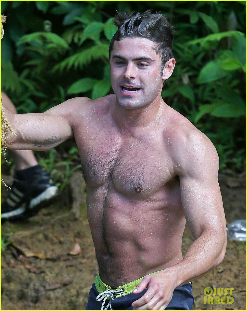 jack efron body