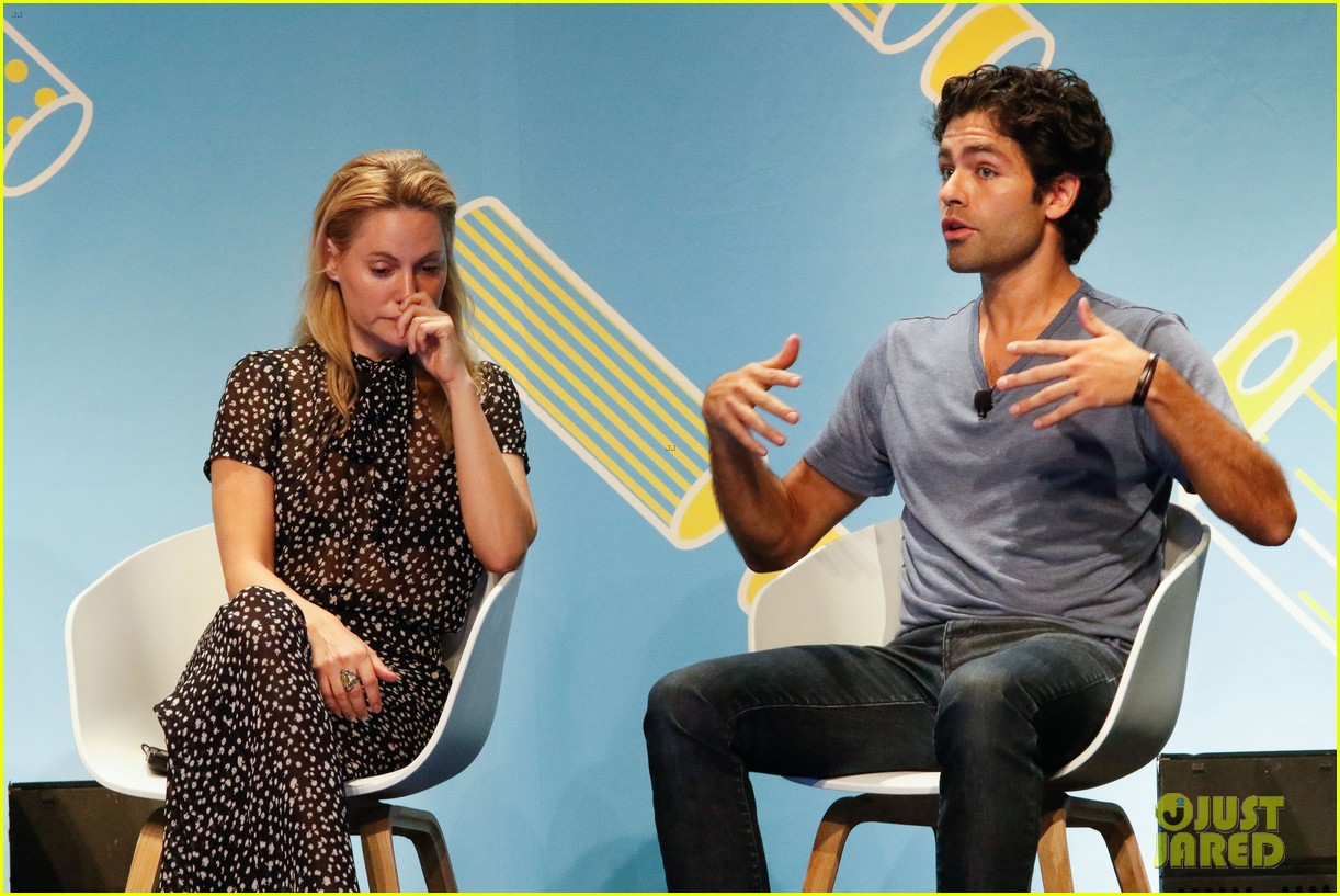 adrian grenier talks signing brand deals 053400260