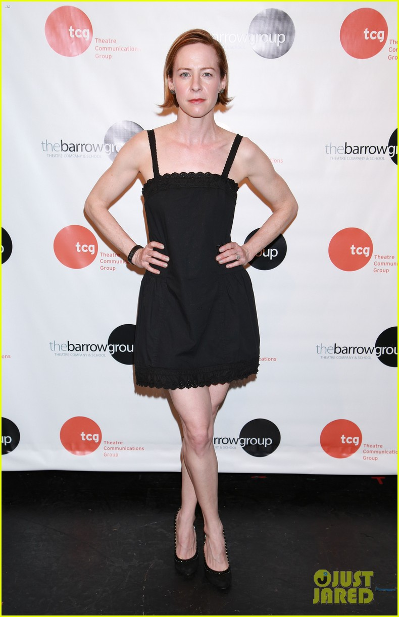 anne hathaway supports seth barrish at an actors companion book release party 053400969