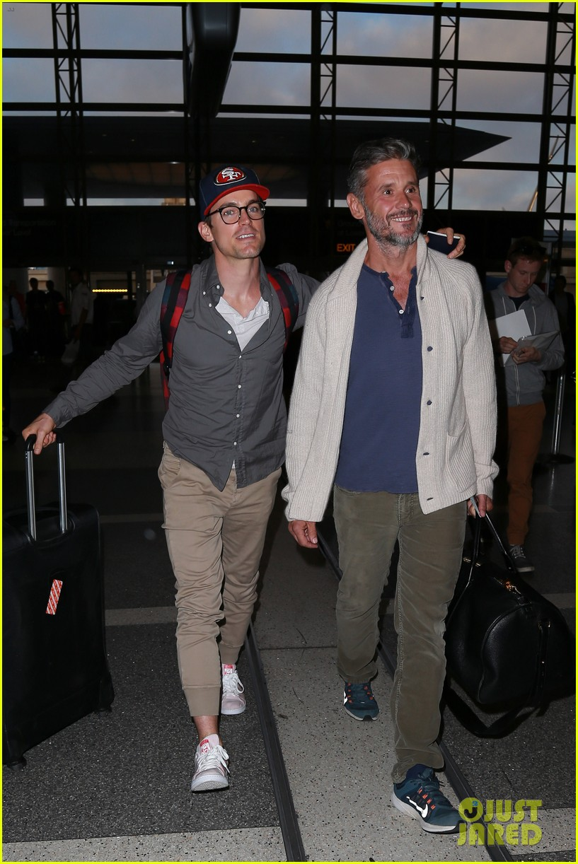 amber heard matt bomer jet out of los angeles 423402977