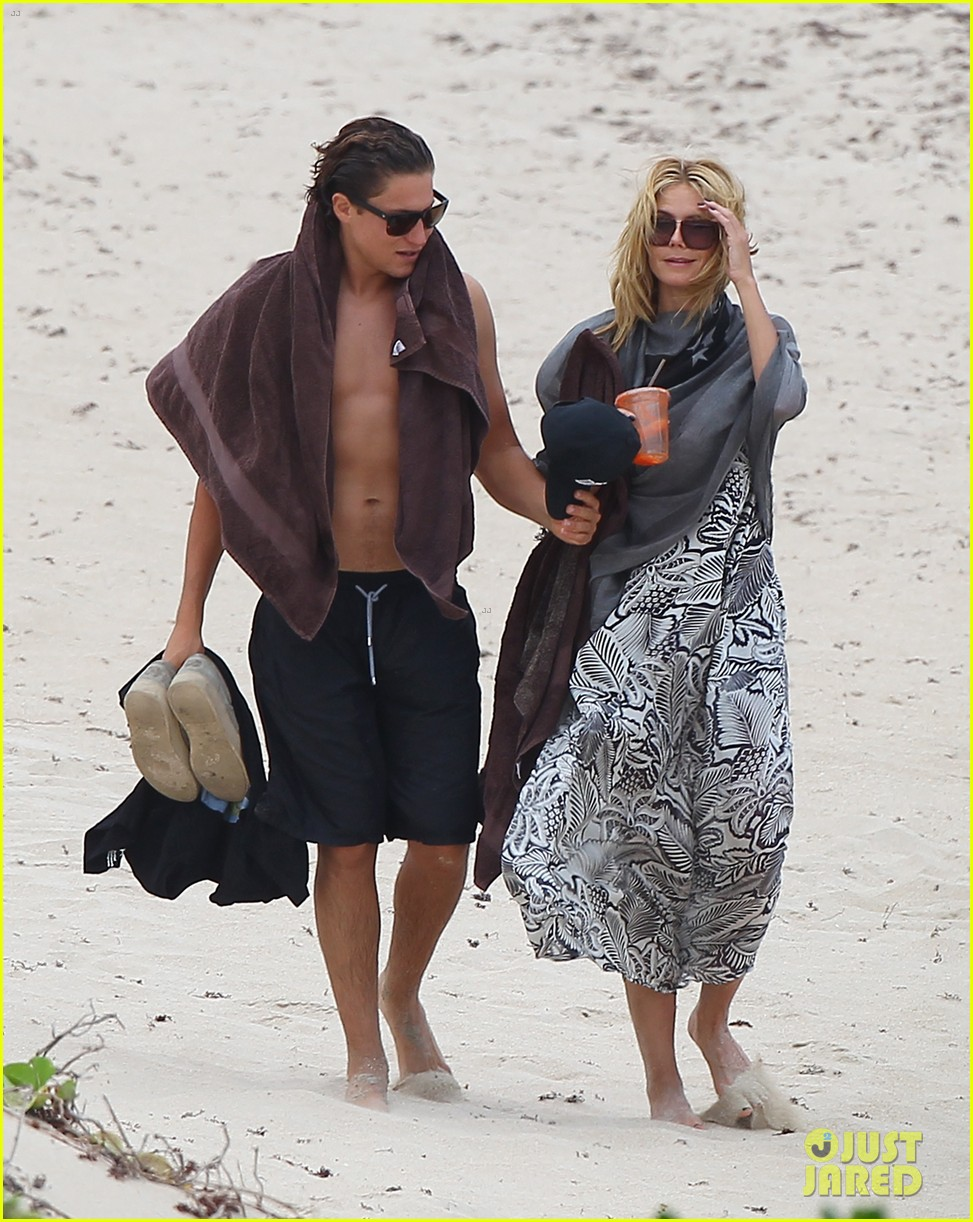 heidi klum vito schnabel pack on pda during st barths vacation 013384328