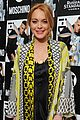 lindsay lohan jeremy scott buddy up at i d mags 35th anniversary 16