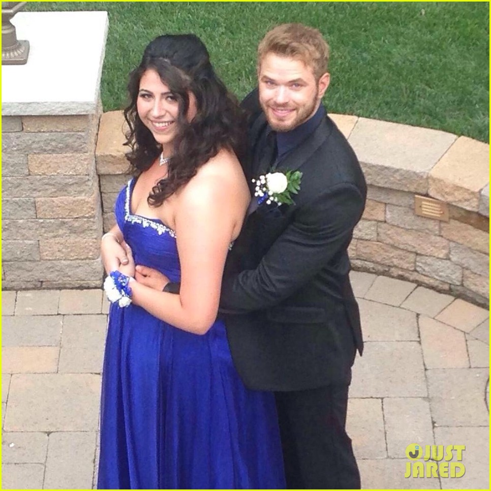 kellan lutz took this high school student to her prom 063388919