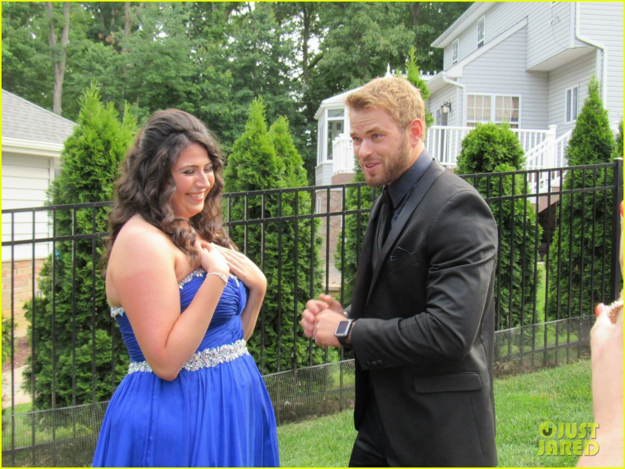 kellan lutz took this high school student to her prom 093388922