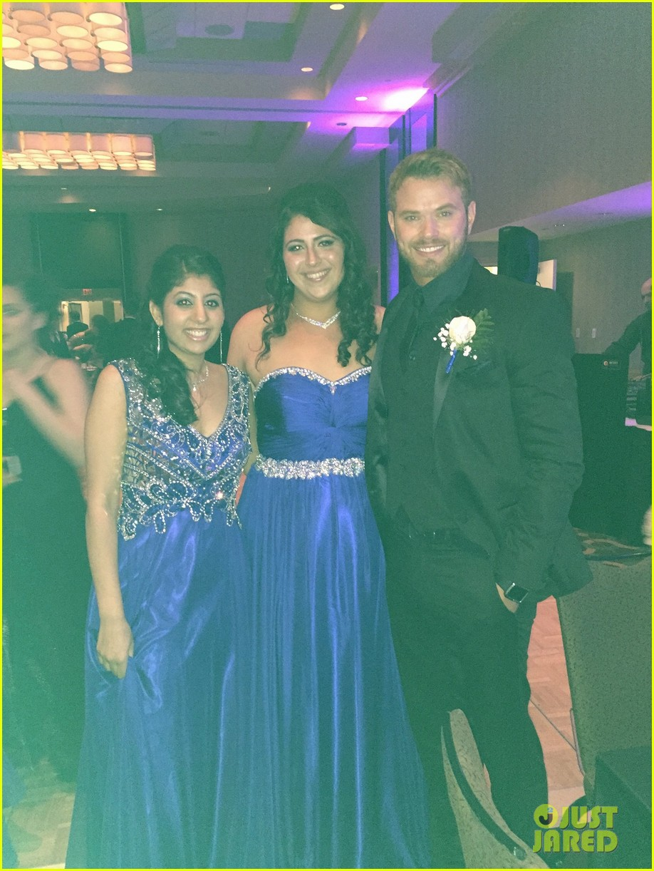 kellan lutz took this high school student to her prom 133388926