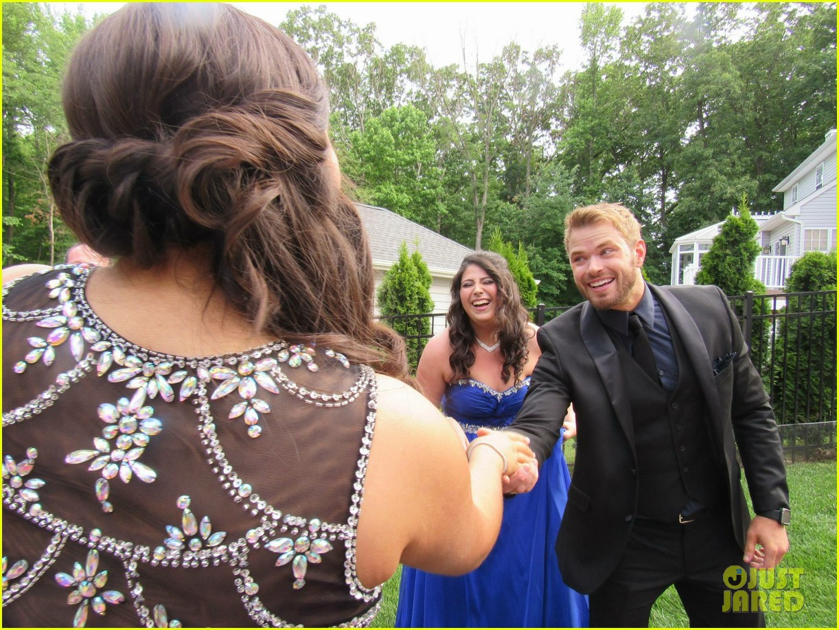 kellan lutz took this high school student to her prom 153388928