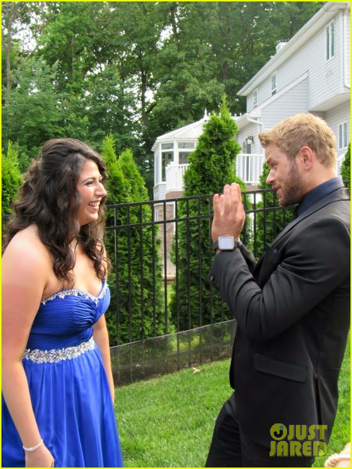 kellan lutz took this high school student to her prom 193388932